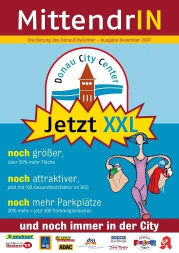 und noch immer in der City - Donau City Center