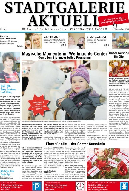 ++49 (0)851 · Center-Management - Stadtgalerie Passau