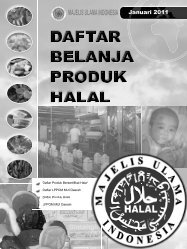 Panduan Belanja Produk Halal - Kanwil Kemenag Riau