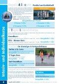 Segeln und Seefahrt 2012 SEGELSCHULE HOFBAUER - Seite 4