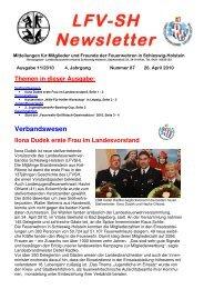 Verbandswesen - Landesfeuerwehrverband Schleswig-Holstein
