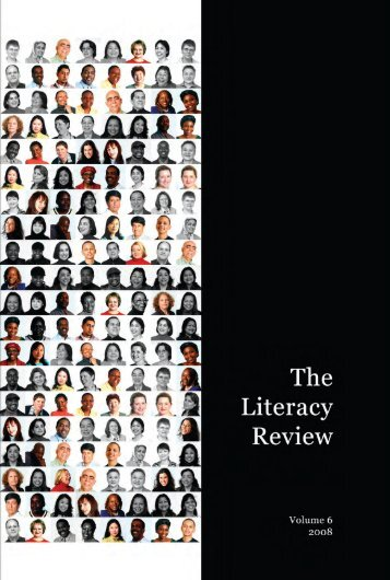 The Literacy Review - Gallatin School of Individualized Study - New ...