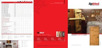 Sodobna objektna vrata - Lip Bled