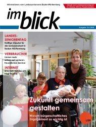 Ausgabe 03/2010 - Der Landesseniorenrat Baden-Württemberg eV