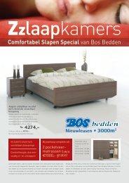 Comfortabel Slapen Special van Bos Bedden