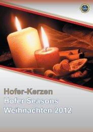 X-mas - Hofer Kerzen Vertrieb Ges.m.b.H.