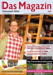 Steiermark Mitte Juli - DAS MAGAZIN Steiermark-Mitte