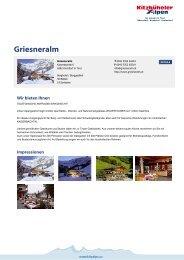 Griesneralm - Kitzbüheler Alpen St. Johann in Tirol