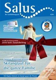 Skilanglauf für die ganze Familie - Salus BKK