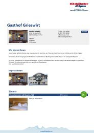 Gasthof Grieswirt - Kitzbüheler Alpen St. Johann in Tirol