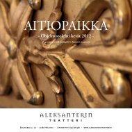 Ohjelmistolehti kevät 2012 - Aleksanterin teatteri