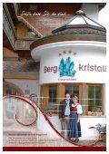 Prospekt Hotel Bergkristall Wildschönau - Seite 3