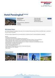 Hotel Penzinghof **** - Kitzbüheler Alpen St. Johann in Tirol