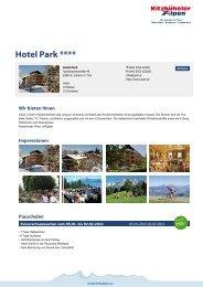 Hotel Park **** - Kitzbüheler Alpen St. Johann in Tirol