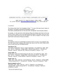 sirenis hotel club tres carabelas & spa - Sirenis Hotels & Resorts