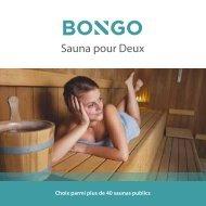 Sauna pour Deux - Weekendesk-mail.com