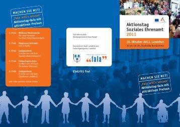 Aktionstag Soziales Ehrenamt 2011 - Diakonie Landshut
