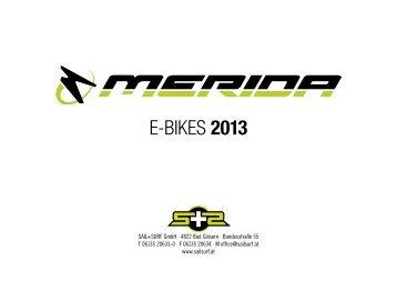 E-BIKES 2013