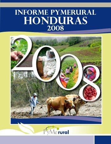 Informe PYMERURAL Honduras 2008