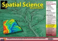 A pril 2012 - Surveying & Spatial Sciences Institute
