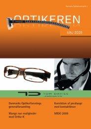 Maj 2009 - Danmarks Optikerforening
