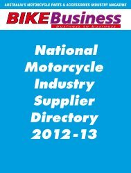 australia's motorcycle parts & accessories industry - Bike Business ...