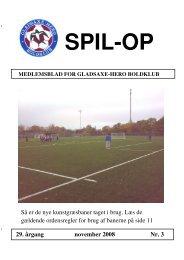 9. november 2008 - Gladsaxe-Hero Boldklub - DBU