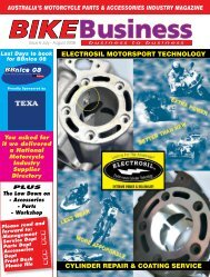 Issue 006 - Bike Business Magazine Home Page