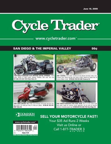 your motorcycle