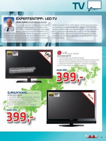EXPERTENTIPP: LED-TV - Haas