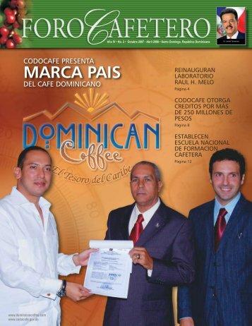 A R T I C U L O S T E C N I C O S - Consejo Dominicano del Café