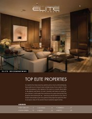 TOP ELITE PROPERTIES - Elite Traveler