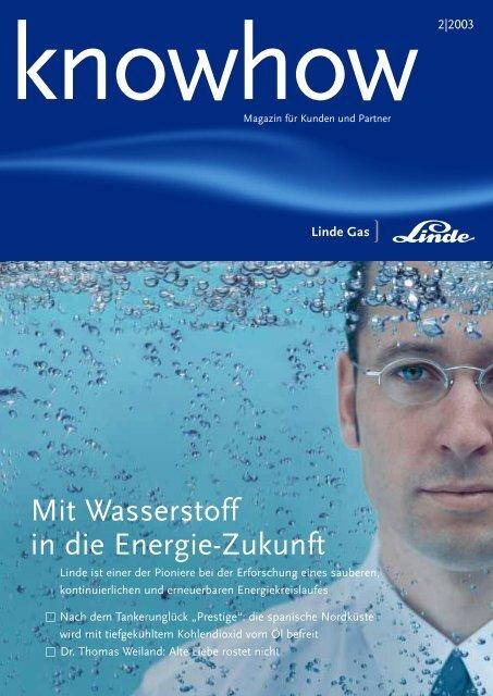 Mit Wasserstoff in die Energie-Zukunft - Linde Gas