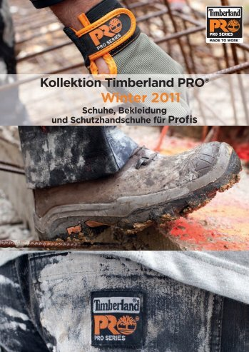 Kollektion Timberland PRO® Winter 2011 ... - City-Tools GmbH