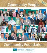 Assets - Community Foundation for the Alleghenies