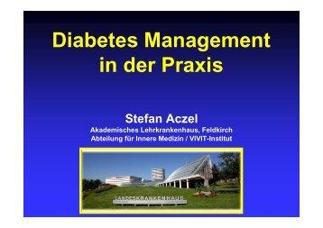 Diabetes Management in der Praxis