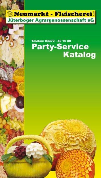 Party-Service Katalog - Neumarkt Fleischerei