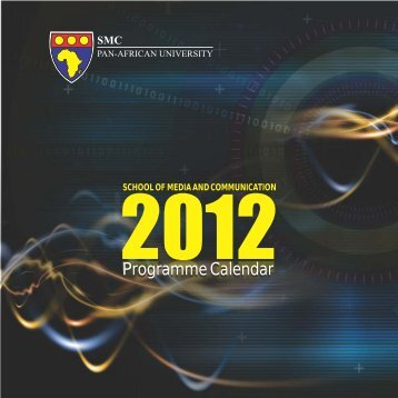Download Programmes Calendar (PDF) - School of Media and ...