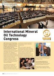 International Mineral Oil Technology Congress - umtf.de