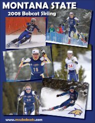 Skiing Media Guide.indd - Montana State University