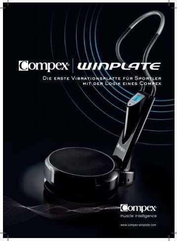 Compex Winplate Prospekt - Sport Components