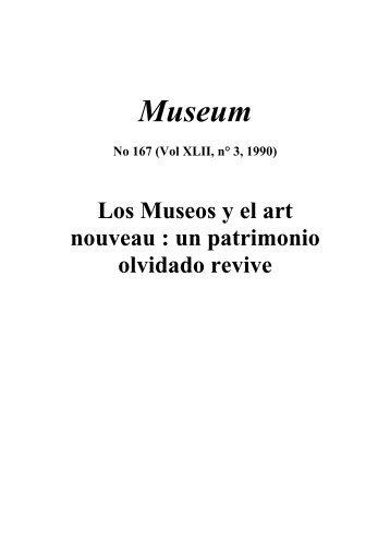Los Museos y el art nouveau: un patrimonio ... - unesdoc - Unesco
