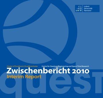 QUEST Zwischenbericht 2010 (PDF, 5.8 MB)