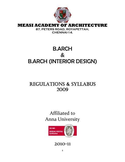 B Arch B Arch Interior Design 2010 11 Measi