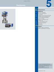 Positioners - Siemens