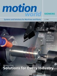 Download edition 2006 (IMTS special) - Siemens