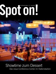 Spot on! - Hallenstadion