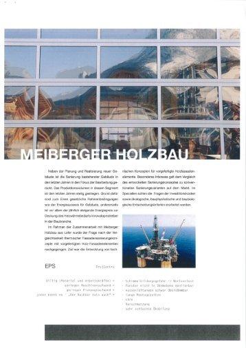 Werkschau FH Kuch - Sanierungsprojekt (Juni ... - Meiberger Holzbau