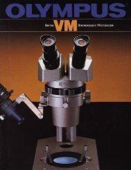 Olympus VM Stereoscopic Microscope (VMF, VMT & VMZ) brochure