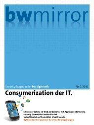 Consumerization der IT. - BW Digitronik AG